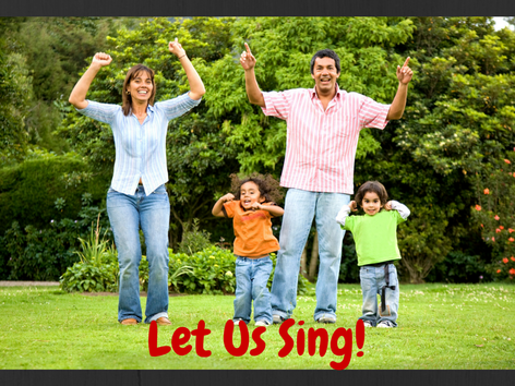 tips for singing with your child