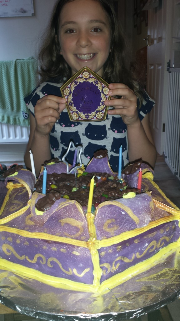 Harry Potter inspired chocolate frog cake - Cossins Music ...