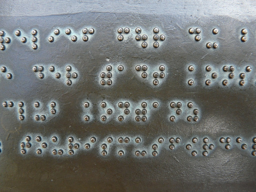 How blind people learn braille