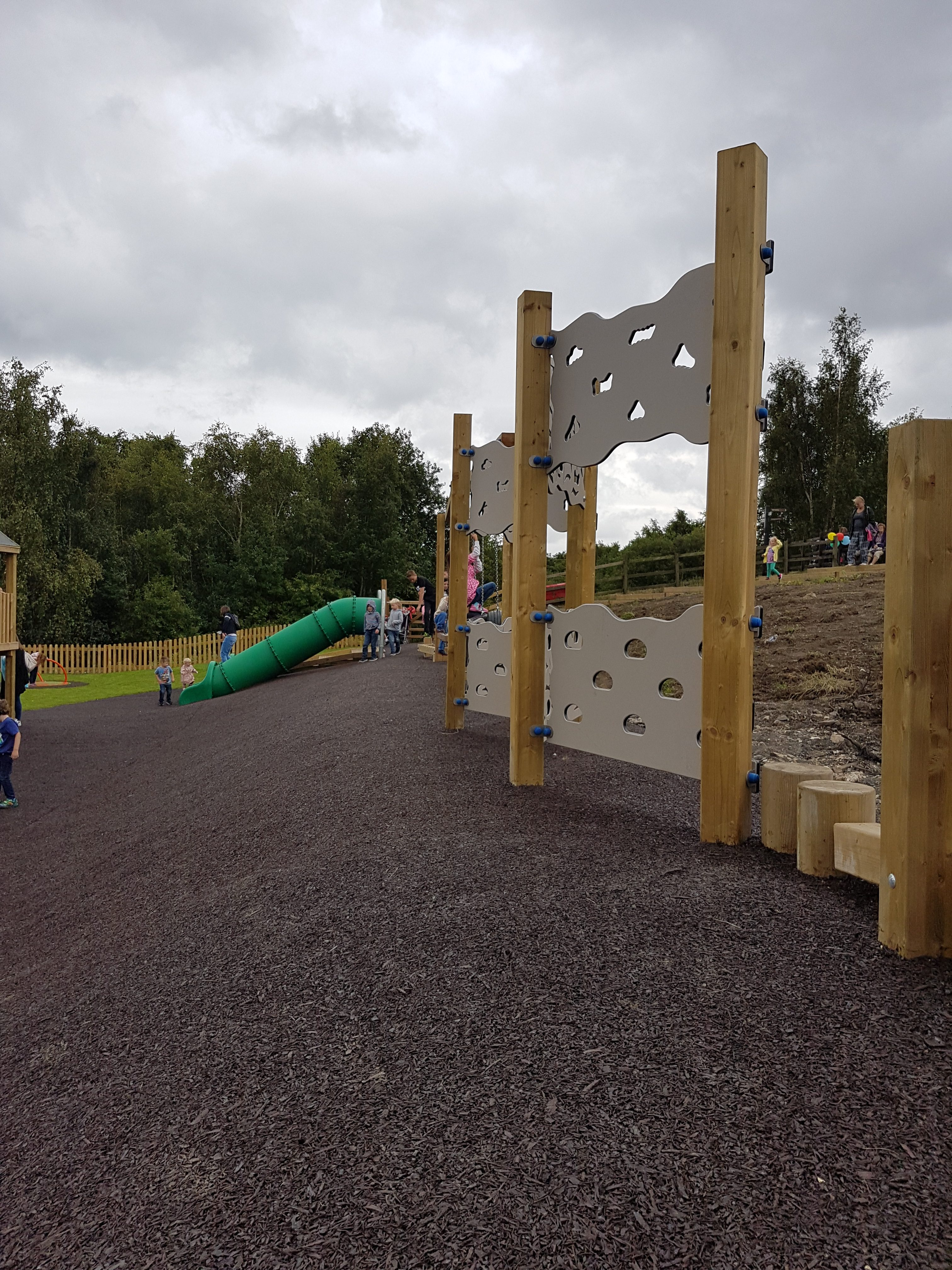National coal mining museum play area