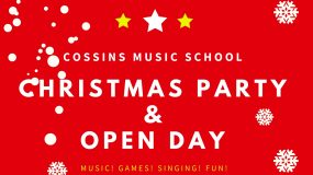 What's on at Cossins Music School